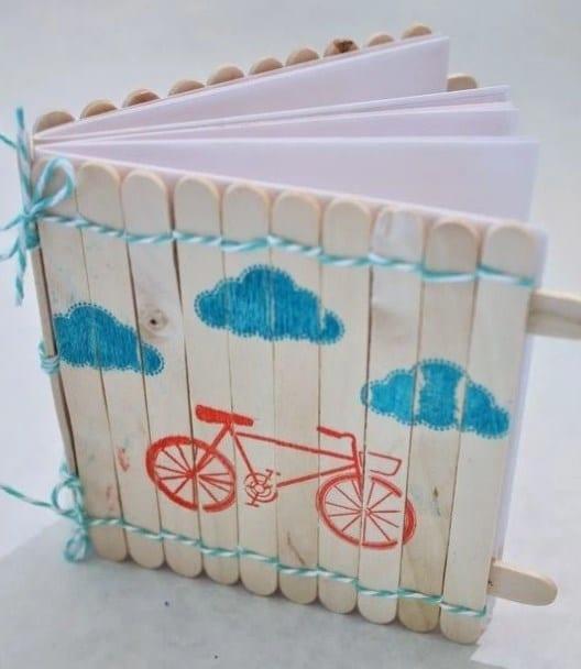 Sampul Buku dari Stik Es Krim